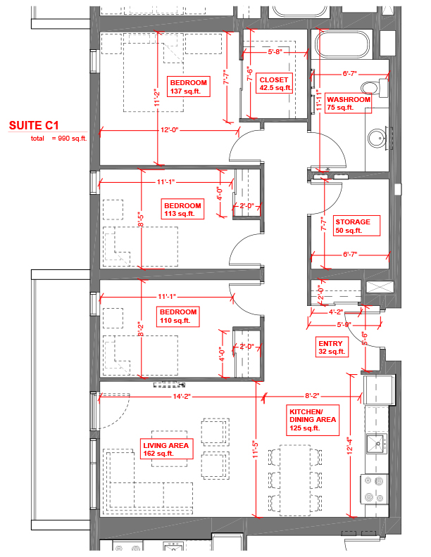 Suite C1